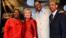Hillary at the Stellars 2016