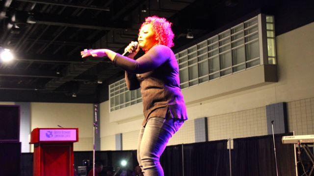 Tina Campbell at Transformation 2016 Performers