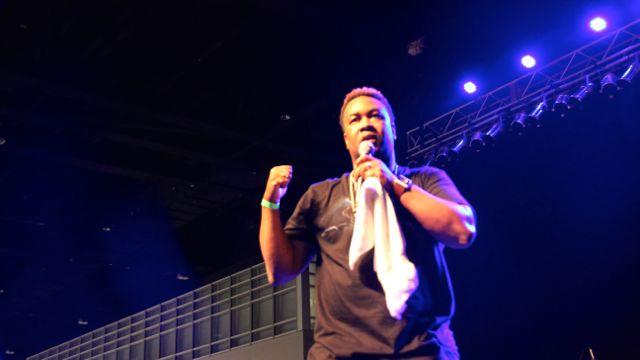 Canton Jones at Transformation 2016 Performers
