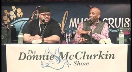 Donnie McClurkin and Fred Hammond