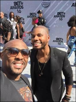 Anthony Faulkner and Kirk Franklin