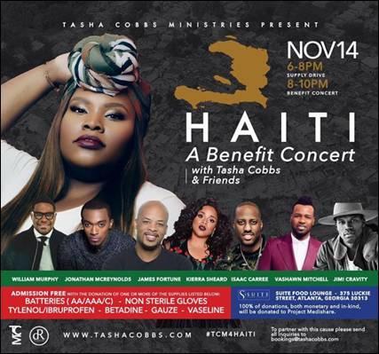 Haiti, Tasha