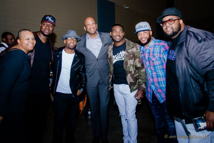"""Transformation Expo 2017 – Donnie McClurkin, Earnest Pugh, James Fortune, Sheilah """"The Belle"""" Belle, and Willie Moore, Jr."""