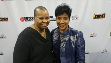 Sheilah Belle and Phylicia Rashad