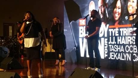 Jekalyn Carr at the Bloody Win Tour