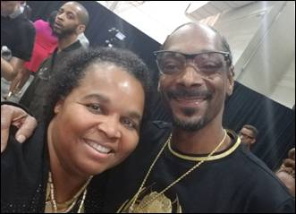 Sheilah Belle and Snoop Dogg Meet