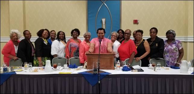 Sheilah Belle at Va State Baptist Convention 2018