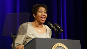 Aretha Franklin At Dept Of Justice
