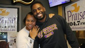 """Sheilah """"The Belle"""" Belle with James Johnson"""