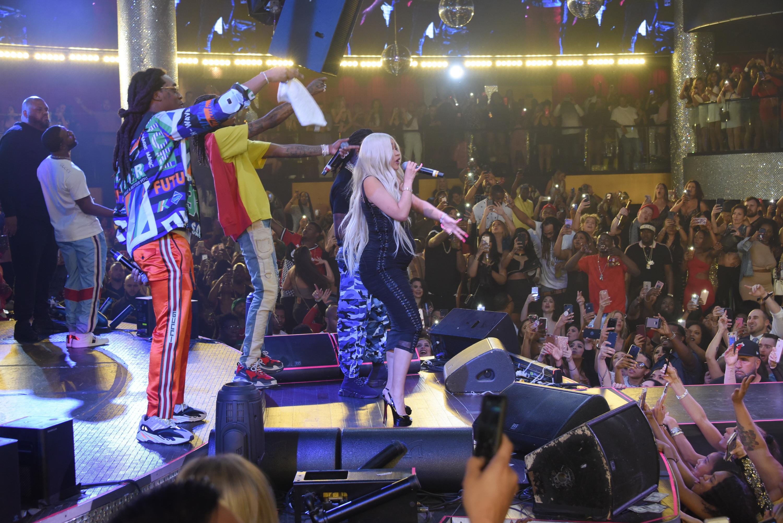 Cardi B & Migos at Drai's Nightclub 10