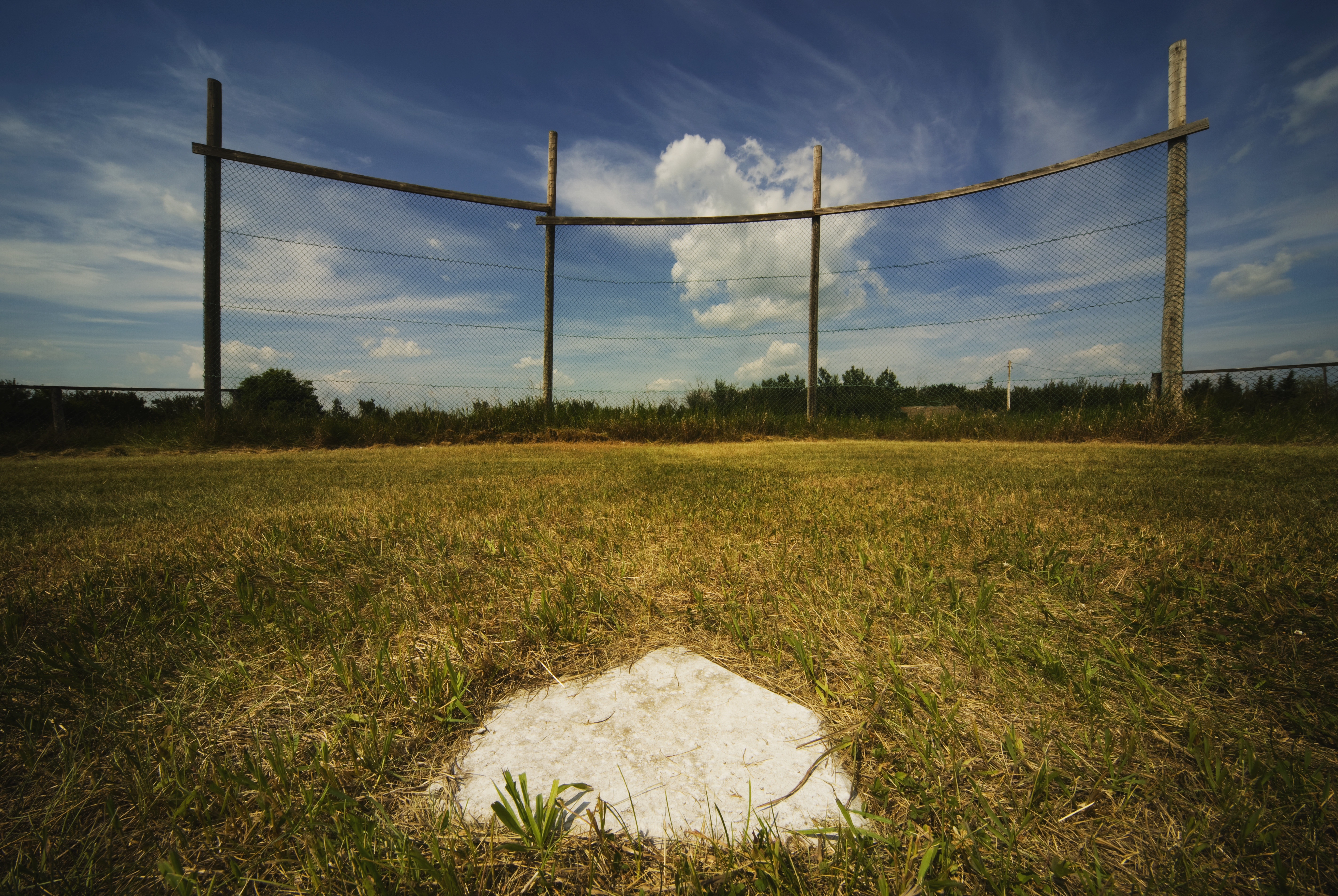 An Old Baseball Diamond