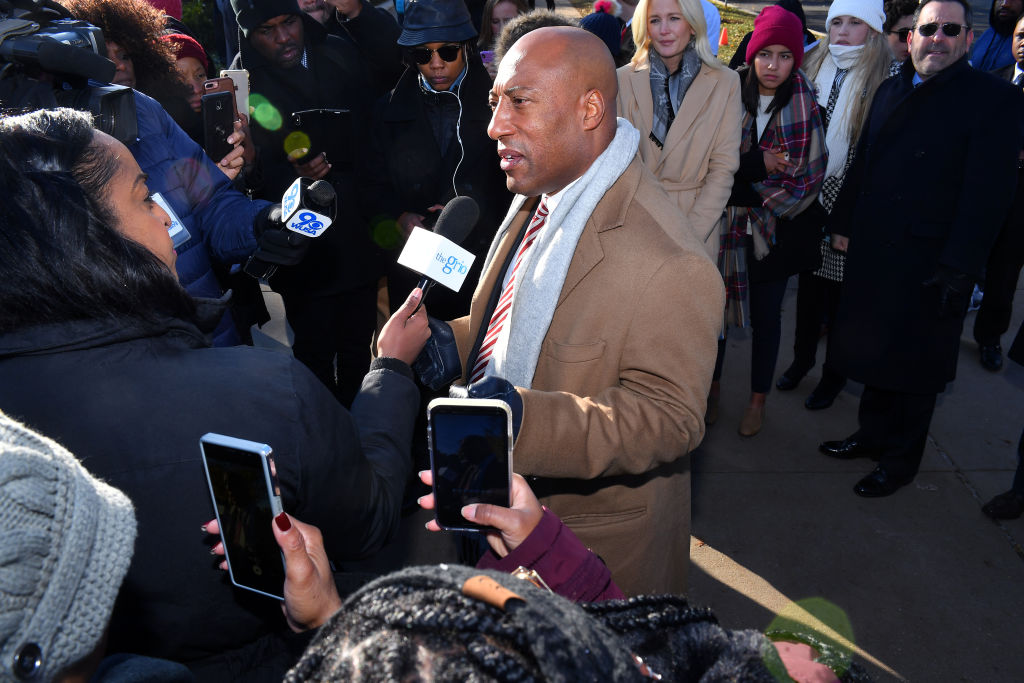 Byron Allen (Founder, Chairman & CEO, Entertainment Studios) At Supreme Court Hearing In Racial Discrimination Suit Against Comcast