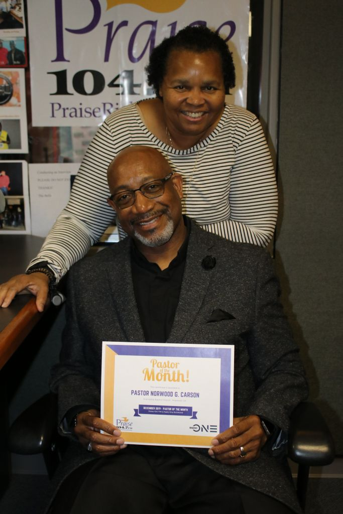 Pastor Of The Month: Pastor Norwood G. Carson