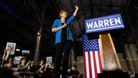 Elizabeth Warren Rally in Detriot, US