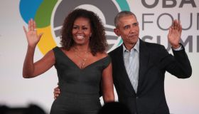 Barack And Michelle Obama Speak At Obama Foundation Summit