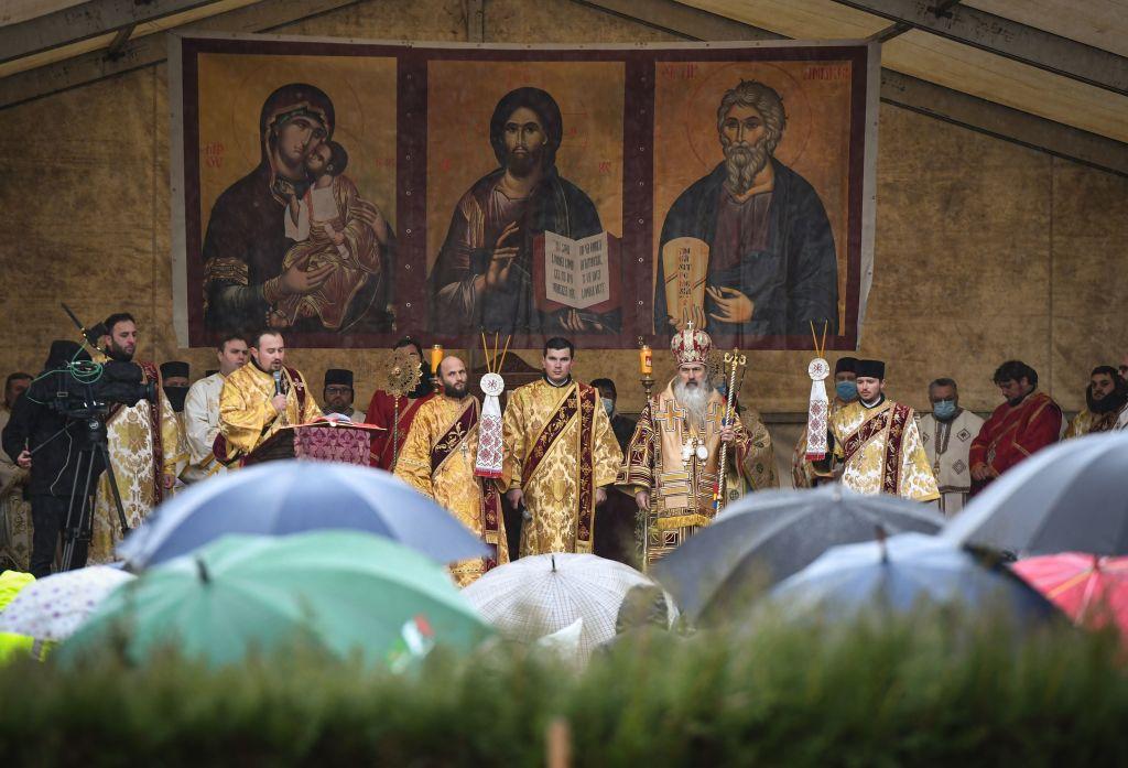 ROMANIA-TRADITION-RELIGION-SAINT ANDREW