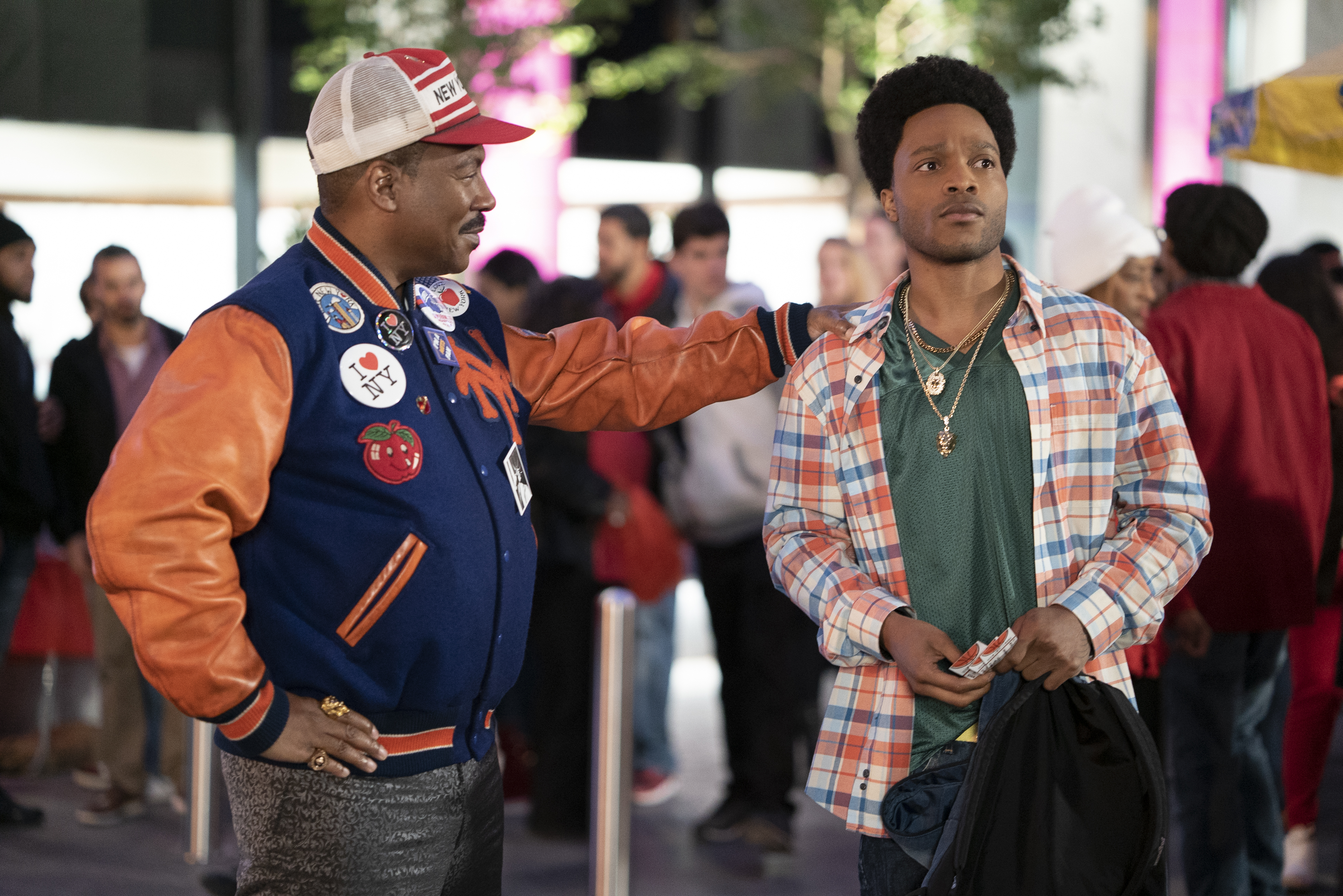 Eddie Murphy and Jermaine Fowler star in Coming 2 America Poster and Production Stills