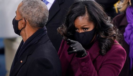 The Obamas Lookin Fly At The 2021 Inauguration [PHOTOS]