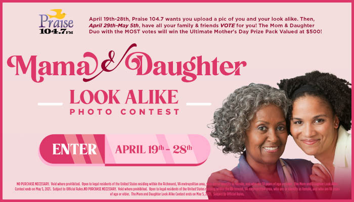Mother & Daughter Look A Like Contest_RD Richmond_April 2021