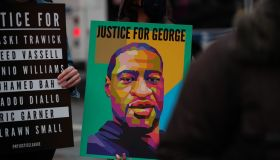 Vigil held in New York for the victims of police brutality