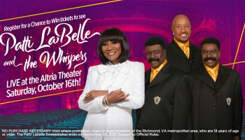 PATTI LABELLE AND THE WHISPERS Giveaway SWEEPSTAKES